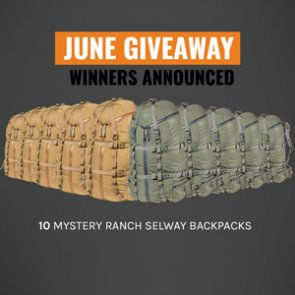 Mystery Ranch winners announced: 10 people won Selway 60 backpacks