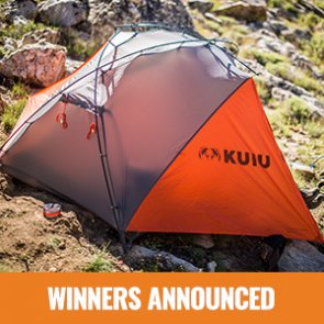 5 people just won a KUIU tent