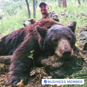 Getting close: Bear hunt at under 3 yards