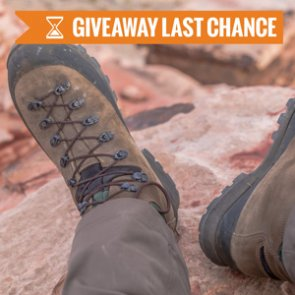 February INSIDER giveaway: 12 Kenetrek Mountain Extreme boots