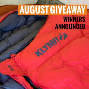 20 people just won a Klymit Sleeping Bag