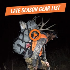 Brady Miller's 2017 late-season backcountry gear list