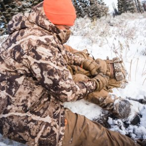 Late season layering system for hunting elk