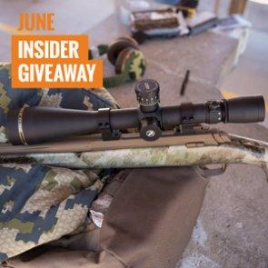 June INSIDER giveaway: 6 Leupold Riflescopes