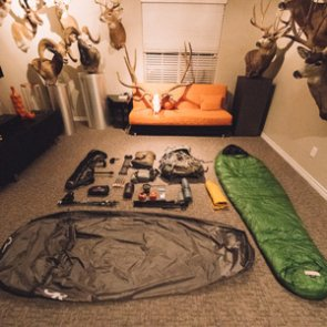 Lorenzo's mid-September backcountry elk hunting gear list