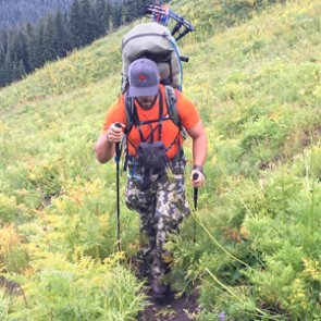 Why do hunters need trekking poles?