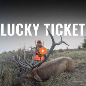 LUCKY TICKET - A Utah Bull Elk Hunt