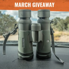 The March INSIDER Giveaway! 5 Vortex Razor HD 10x42 binoculars