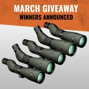 5 people just won a Vortex Viper HD spotting scope
