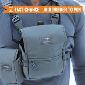 The February INSIDER Last Chance! 40 Marsupial Gear Bino Packs