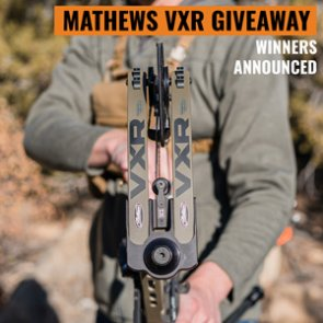 Mathews VXR Bow Winners Announced!