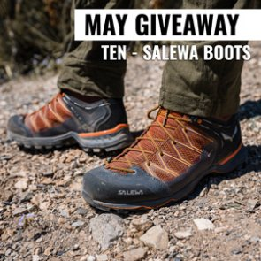 May INSIDER Giveaway: 10 pairs of Salewa Mountain Trainer Lite Mid GTX boots