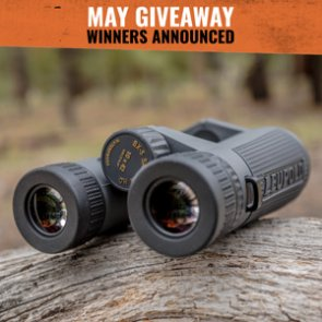 Leupold winners announced: Five people won 10x42 BX-5 Santiam HD binoculars
