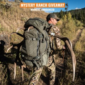 6 people just won a Mystery Ranch Beartooth backpack in our June INSIDER giveaway