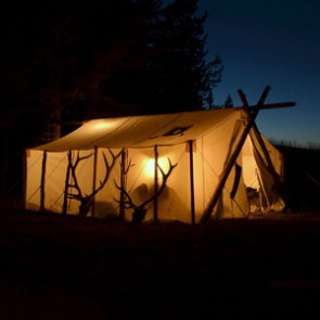 May INSIDER giveaway: 3 Davis Wall Tents