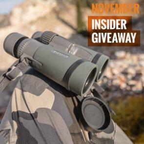 November INSIDER giveaway: 4 Vortex Razor HD Binoculars