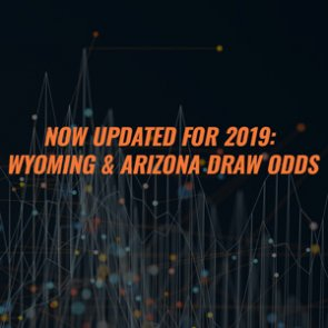 2019 Wyoming And Arizona Draw Odds Now Available