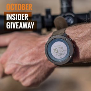 October INSIDER giveaway: 10 Suunto Traverse Alpha watches