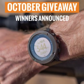 10 people just won a Suunto Traverse Alpha watch