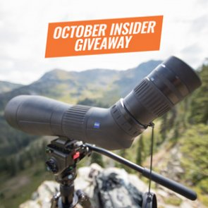 October INSIDER Giveaway: 3 Zeiss Conquest Gavia Spotting Scopes