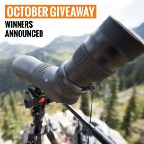 3 people just won a Zeiss Conquest Gavia spotting scope