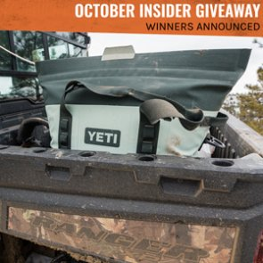 YETI Hopper M30 Soft Coolers — Winners Announced!