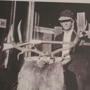 A collection of vintage hunting photos