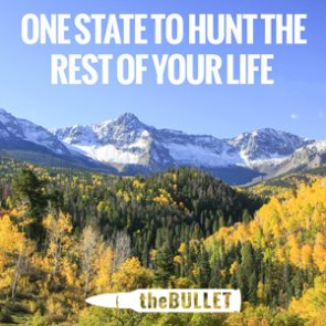 theBULLET - Top 31 responses: One state to hunt the rest of your life