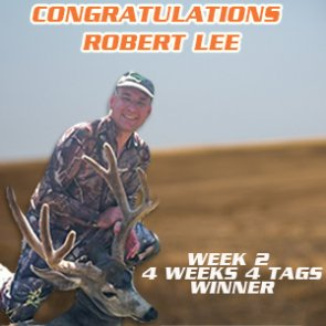 Congrats to Robert Lee - Week 2 Winner