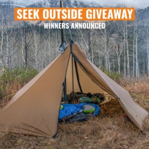 8 people just won a Seek Outside Cimarron shelter in our July INSIDER giveaway