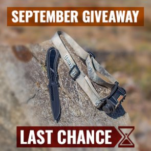 Sept. INSIDER giveaway: 40 Browning headlamp & knife combos