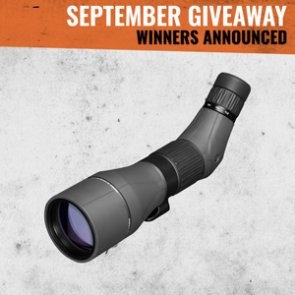 Leupold SX-5 Santiam HD Spotting Scope winners announced!