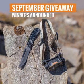 40 people just won a Browning headlamp and knife combo
