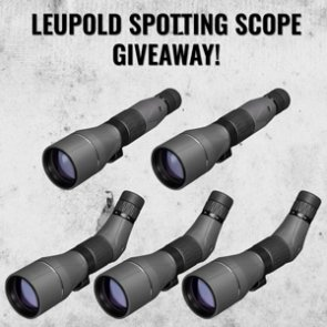 September INSIDER giveaway - FIVE Leupold SX-5 Santiam HD Spotting Scopes