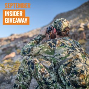 September INSIDER Giveaway: 10 Sets of Sitka Gear Clothing