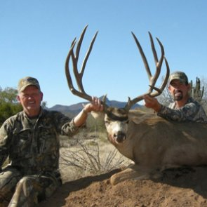 South of the border: Coues deer and mule deer
