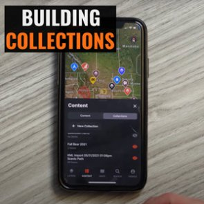 Using Collections on the goHUNT Maps app