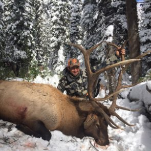 Endless snow, action, disappointments, and adventure on a Wyoming elk hunt