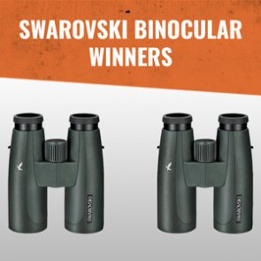 Swarovski SLC 10x42 binocular winners announced