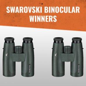 Swarovski SLC 10x42 binocular winners announced