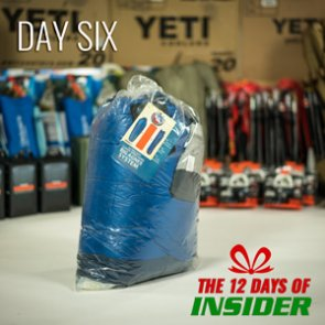 Day Six — The 12 Days of INSIDER giveaway — Six Big Agnes UL 15 Sleeping Bags