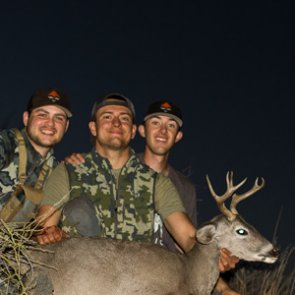 Doubling up on Arizona Coues deer