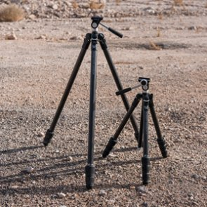 A look at Vortex's new Summit Carbon II and Ridgeview Carbon tripods