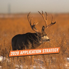APPLICATION STRATEGY 2020: Wyoming Deer and Antelope