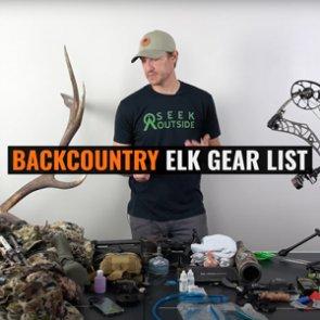 Trail Kreitzer's 2021 Early Season Elk Gear List