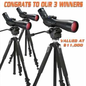 Zeiss spotting scope winners announced