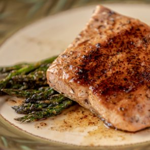 Wild Game Friday - Seared Butter & Herb Salmon