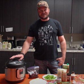 Wild Game Friday - Instant Pot Elk Philly Cheese Steak Pasta