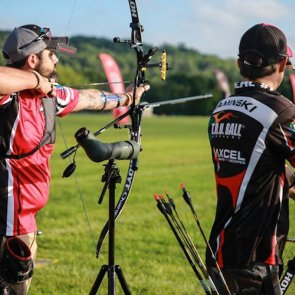 Olympic archers compete in tournament