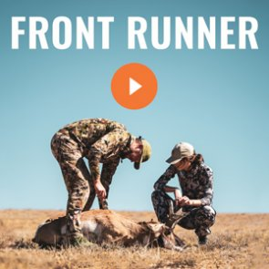 FRONT RUNNER - A Wyoming Archery Antelope Hunt